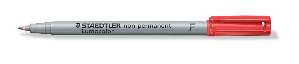 Staedtler OHP-marker Lumocolor Non-Permanent rood, fijn 0,6 mm