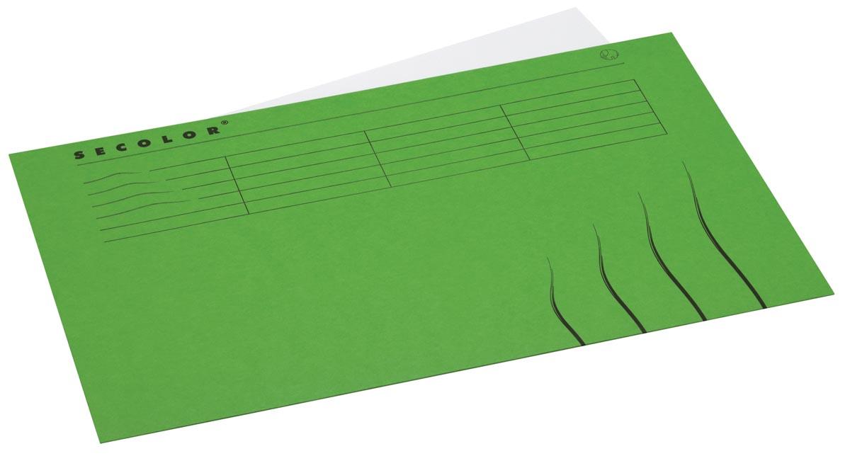 Jalema Secolor dossieromslag voor ft folio (22,5 x 34,8 cm), groen