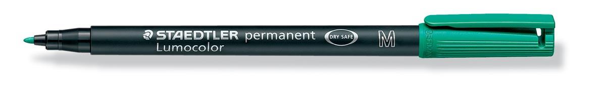 Staedtler OHP-marker Lumocolor Permanent groen, medium 1 mm