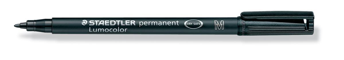 Staedtler OHP-marker Lumocolor Permanent zwart, medium 1 mm
