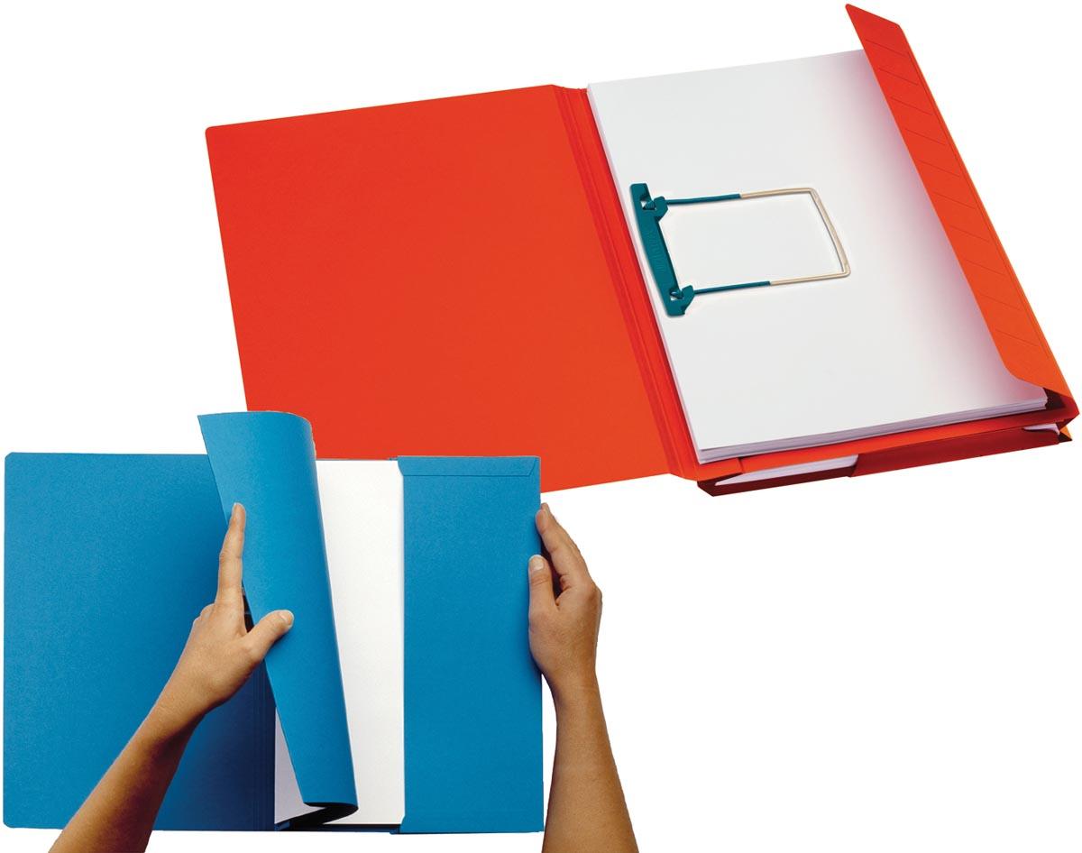 Jalema Secolor Combimap, pak van 10 stuks, rood