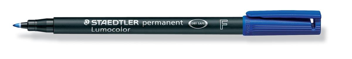Staedtler OHP-marker Lumocolor Permanent blauw, fijn 0,6 mm