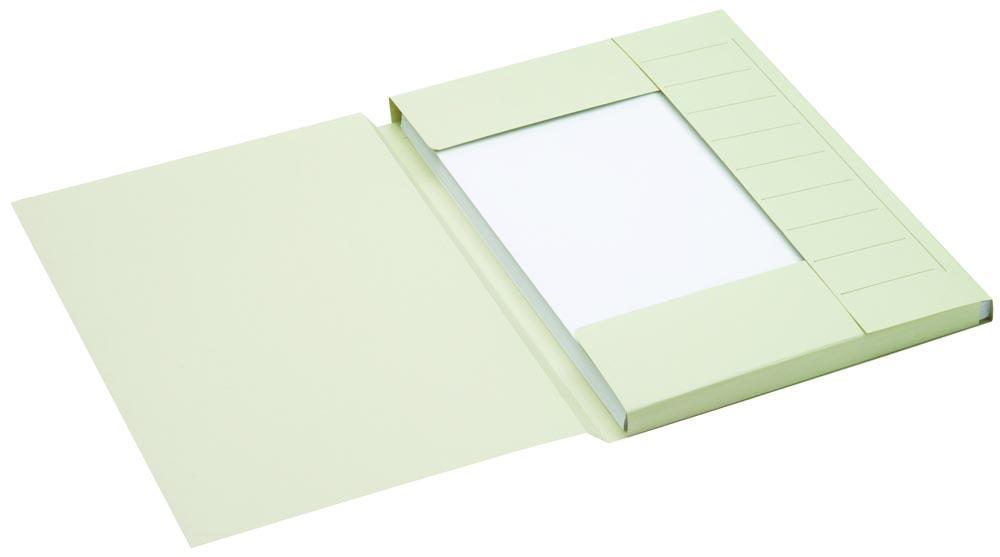 Jalema Secolor dossiermap voor ft A4 uit karton, grijs, pak van 25 stuks