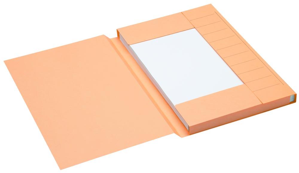 Jalema Secolor dossiermap voor ft folio uit karton, gems, pak van 25 stuks