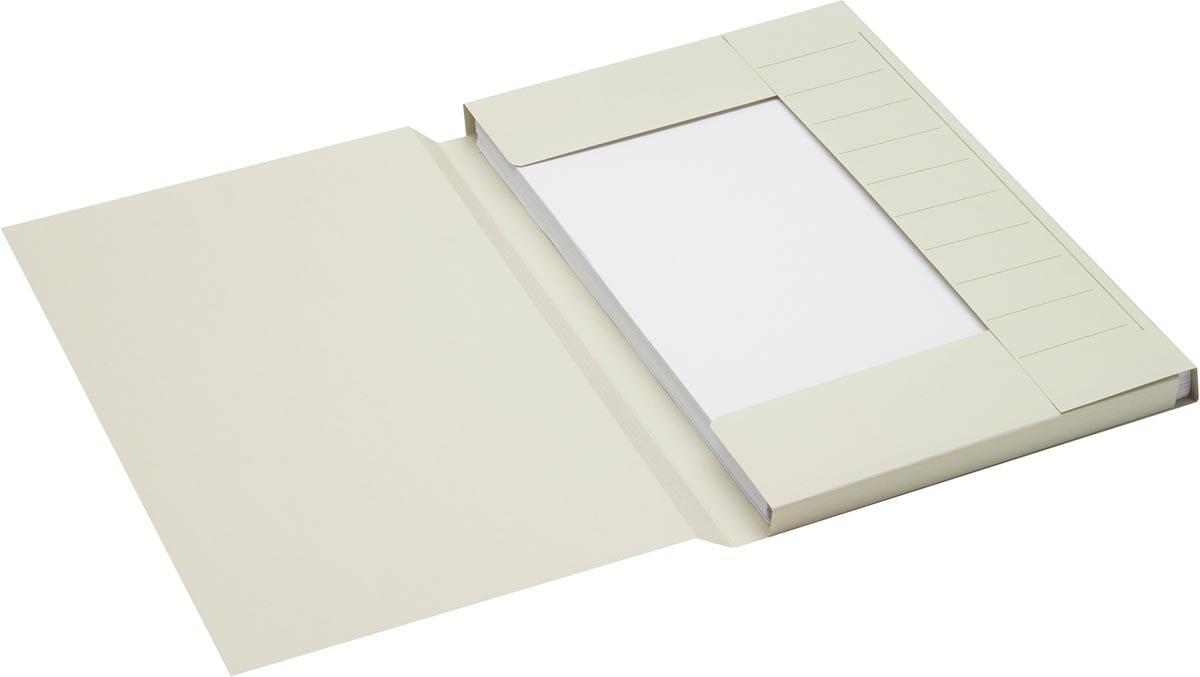 Jalema Secolor dossiermap voor ft folio uit karton, grijs, pak van 25 stuks
