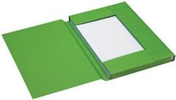 Jalema dossiermap voor ft folio uit karton, groen, pak van 125 stuks