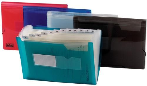 Beautone voorordner, A4, 13 vakken, in geassorteerde kleuren