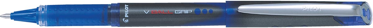 Pilot roller V-BALL Grip, brede punt 1,0 mm, blauw