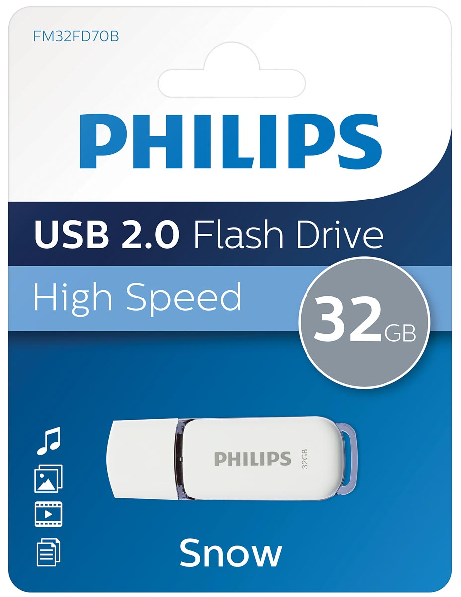 Philips Snow USB 2.0 stick, 32 GB