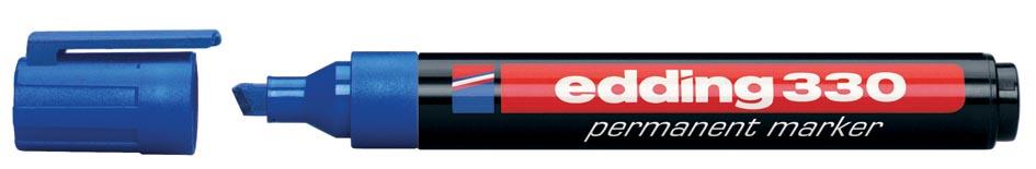 Edding permanente marker e-330 blauw