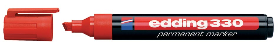 Edding permanente marker e-330 rood