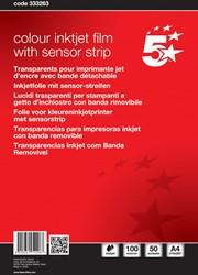 5 Star transparanten voor inkjetprinters