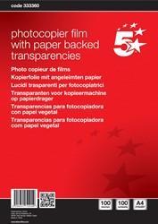 5 Star transparanten voor kopieertoestellen
