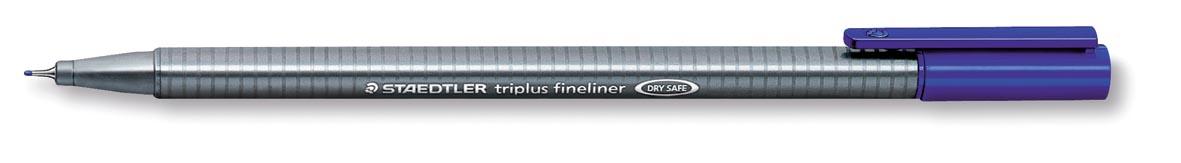 Staedtler fineliner Triplus blauw