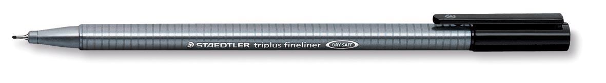 Staedtler fineliner Triplus zwart