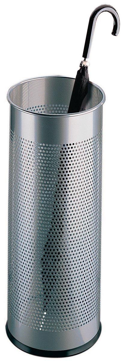 Durable parapluhouder 28,5 liter, metaal-zilver