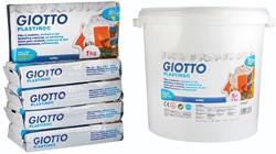 Gitto Plastiroc boetseerpasta, pak van 1 kg, 5 pakken in hermetisch afgesloten doos
