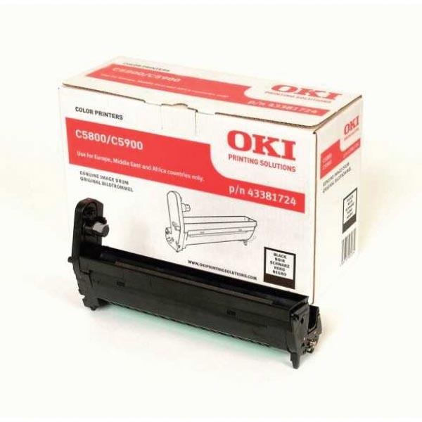 Oki Drum Kit zwart - 20000 pagina's - 43381724