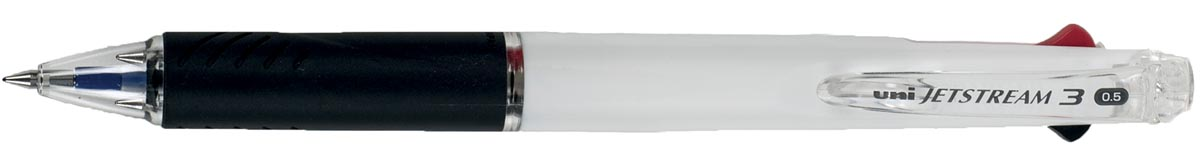 Uniball Roller Jetstream 3 colours, wit lichaam