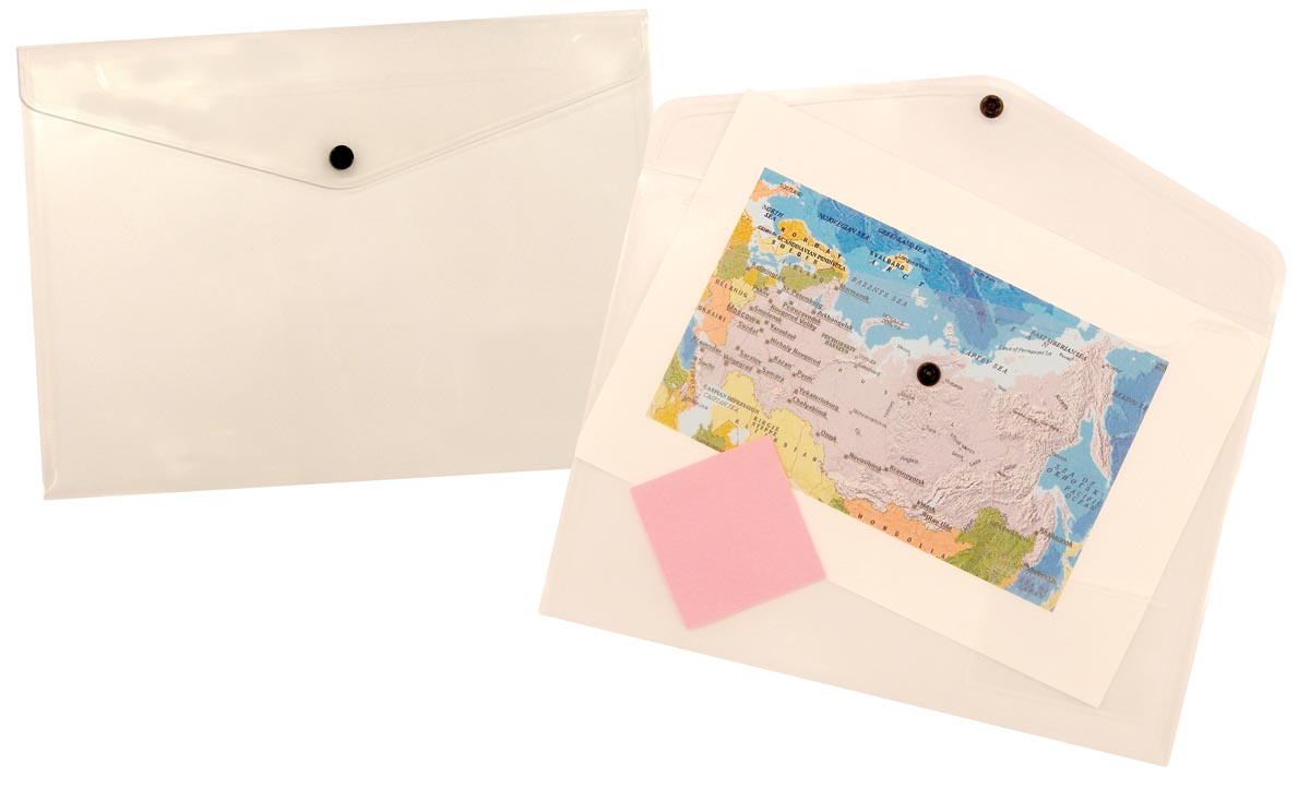 5 Star documentenmap ft A4, transparant
