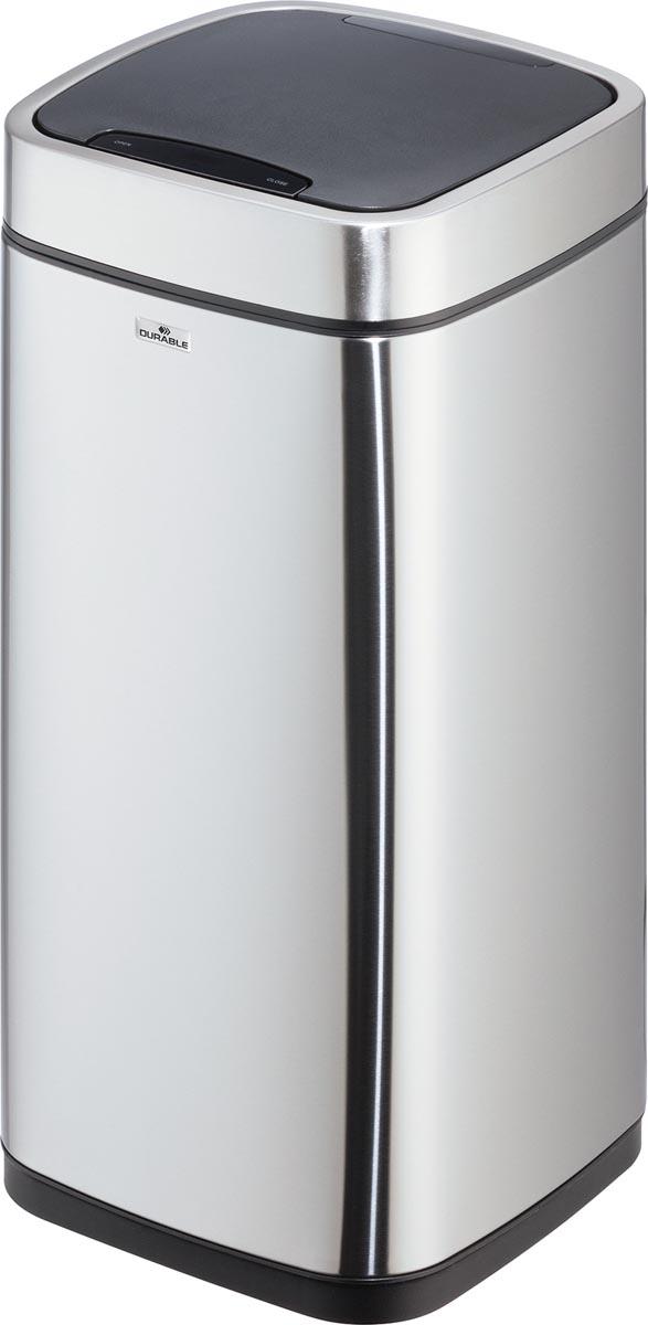 Durable afvalbak met sensor, inhoud 21 liter