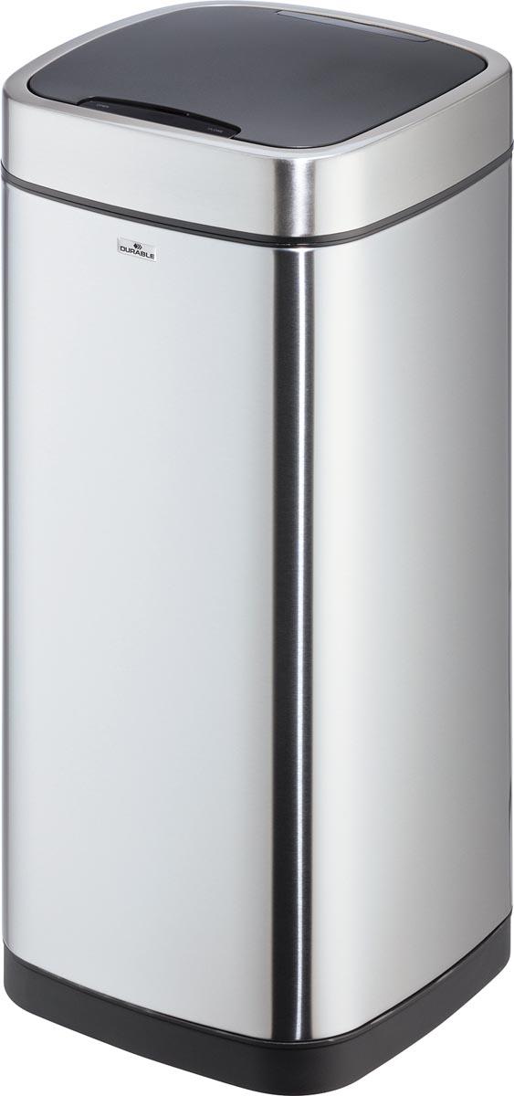 Durable afvalbak met sensor, inhoud 35 liter