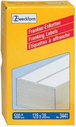Avery Zweckform frankeeretiketten ft 128 x 38 mm, doos van 500 stuks
