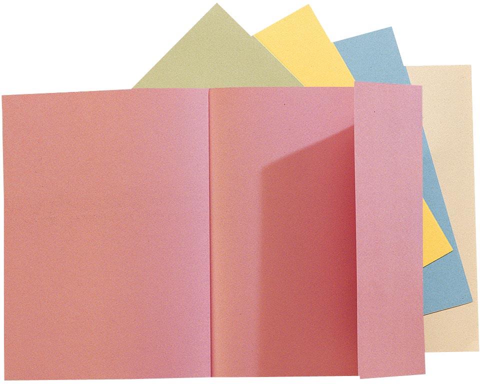 Exacompta dossiermap Jura 160, geassorteerde kleuren, pak van 100
