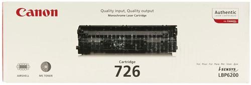 Canon Tonercartridge zwart 726 - 2100 pagina's - 3483B002