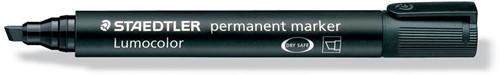 Staedtler permanente marker zwart, schrijfbreedte 2 - 5 mm, schuine punt