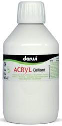Darwi Glanzende acrylverf wit