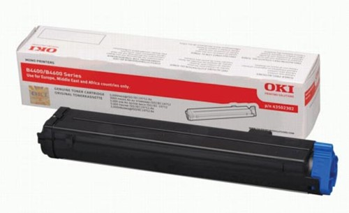 Oki Toner Kit - 3000 pagina's - 43502302
