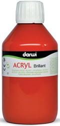 Darwi Glanzende acrylverf vermiljoen