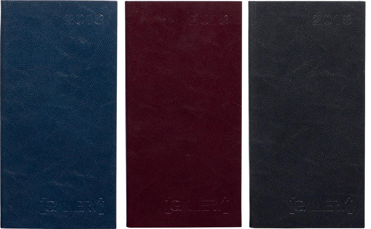 Gallery agenda Minitimer met opdruk, geassorteerde kleuren, 2018