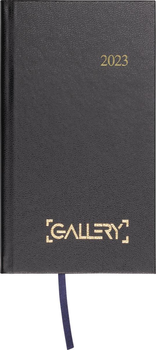 Gallery agenda, minitimer, 2022, zwart