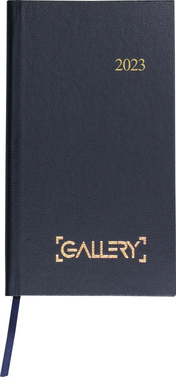 Gallery agenda, minitimer, 2022, blauw
