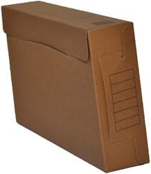 Class'ex archiefdoos, ft 35 x 23 cm (ft folio), rug van 8 cm, pak van 10 stuks