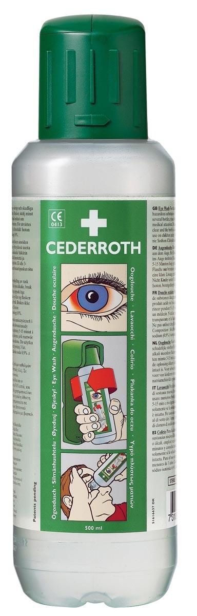 Cederroth oogspoelmiddel, 500 ml, pak van 2 stuks