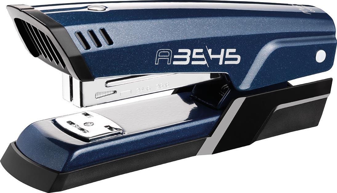 Maped nietmachine Advanced Metal, half strip, voor 24/6 en 26/6, 20 blad, blauw