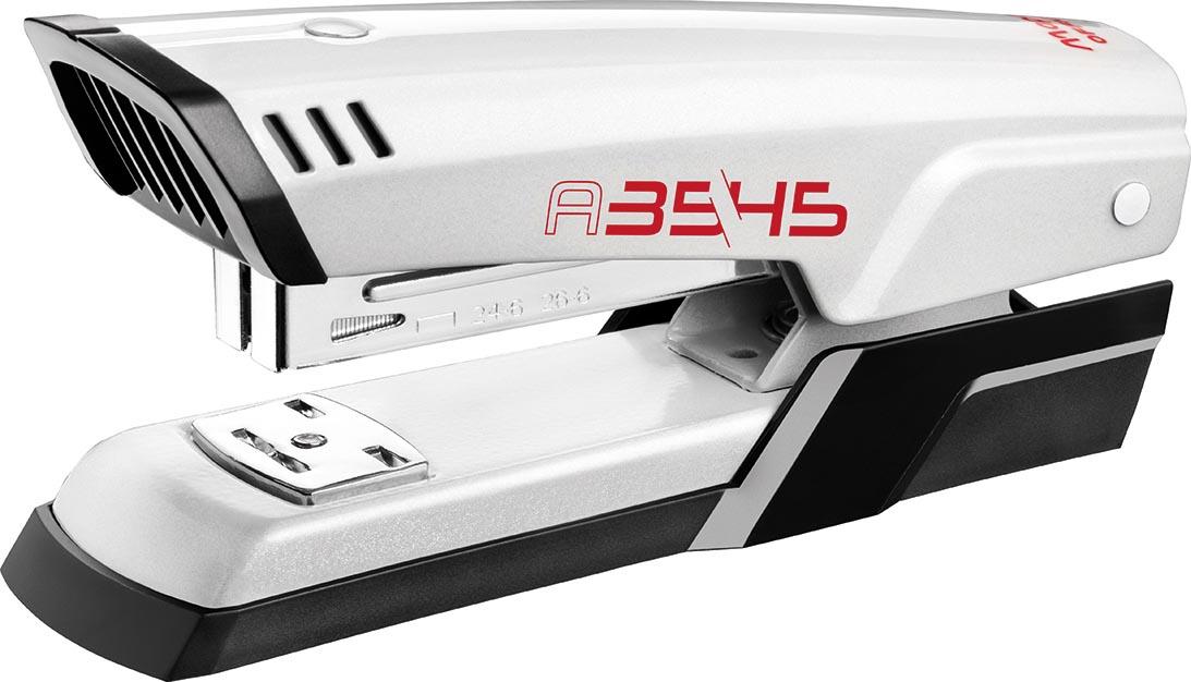 Maped nietmachine Advanced Metal, half strip, voor 24/6 en 26/6, 20 blad, wit