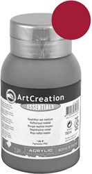 Talens Art Creation acrylverf flacon van 750 ml, karmijn