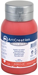 Talens Art Creation acrylverf flacon van 750 ml, middel naftolrood