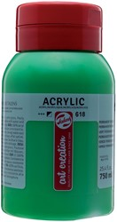 Talens Art Creation acrylverf flacon van 750 ml, licht permanentgroen
