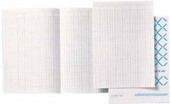 Atlanta by Jalema Accountantspapier ft 33 x 20,5 cm, opengevouwen tot 33 x 41 cm