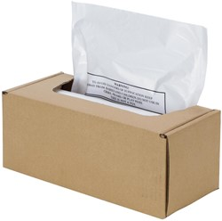 Fellowes opvangzakken voor de AutoMax 500C en 300C, pak van 50 zakken