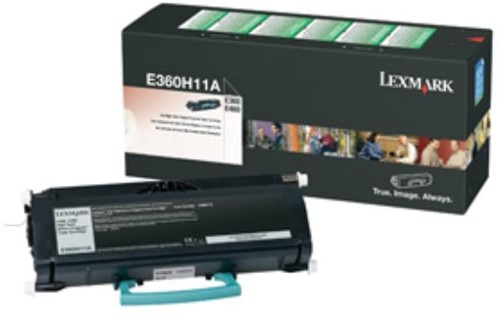 Lexmark Toner Kit return program - 9000 pagina's - E360H11E