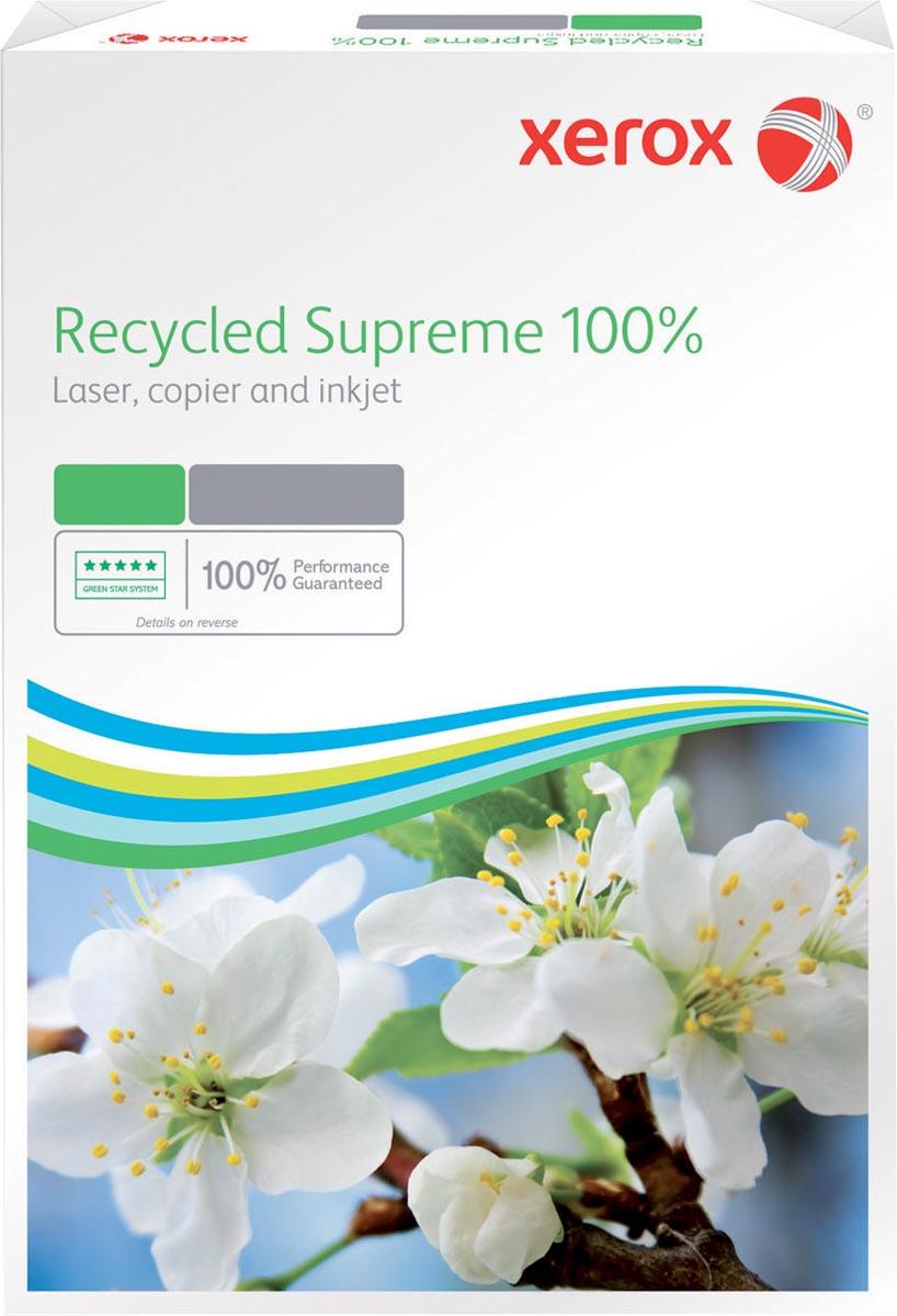 Xerox gerecycleerd kopieerpapier Recycled Supreme ft A4, 80 g, pak van 500 vel