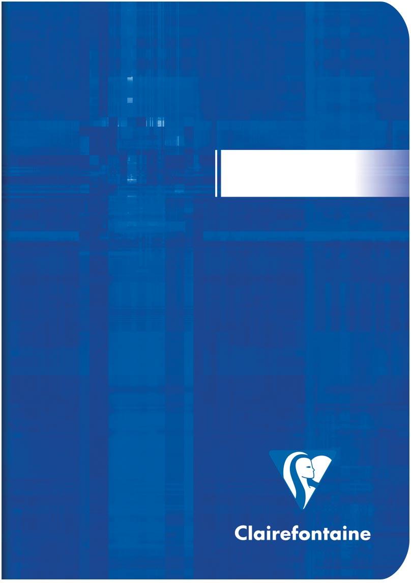Clairefontaine notitiboekje Metric ft A6, geruit 5,5 mm, 96 bladzijden