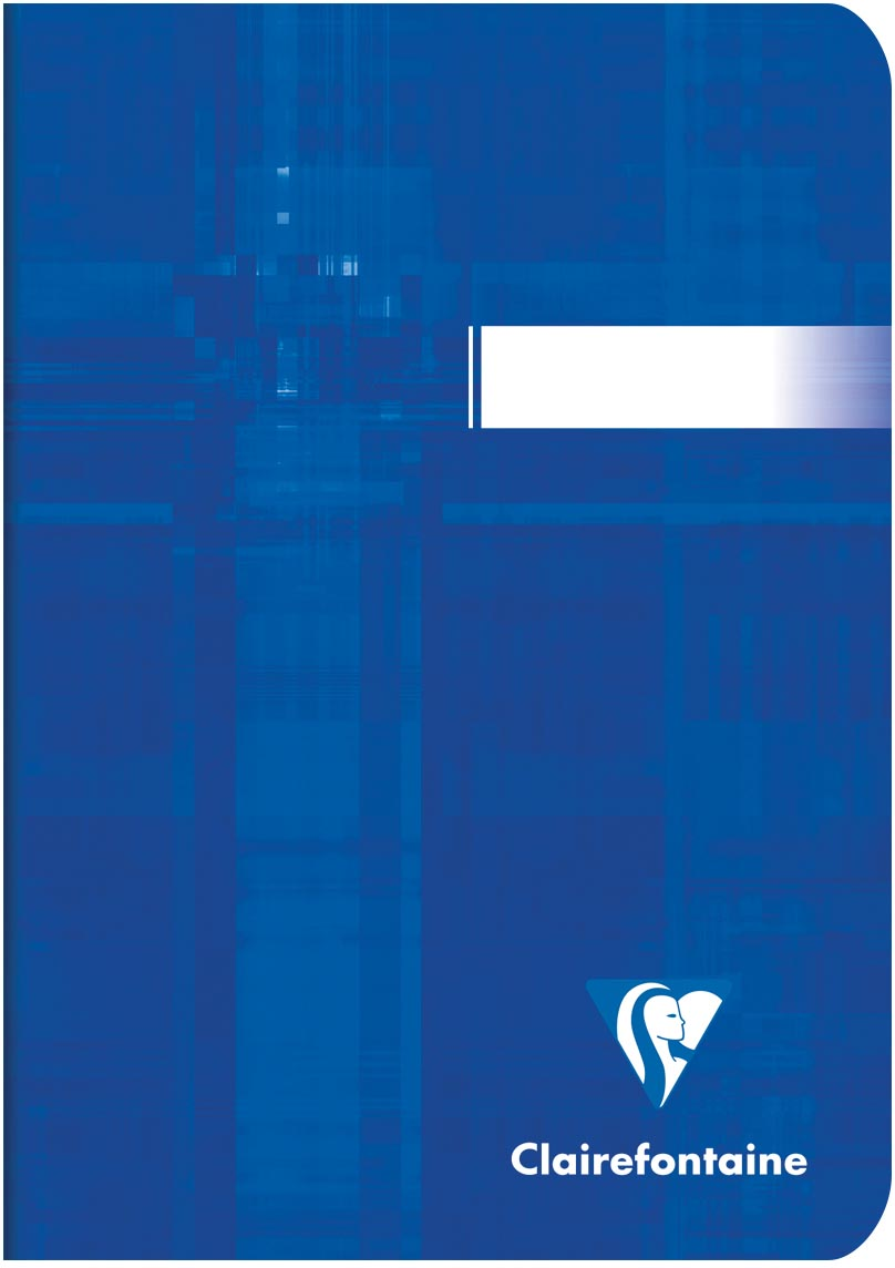 Clairefontaine notitiboekje Metric ft A6, gelijnd, 96 bladzijden
