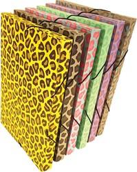 Bronyl elastobox Luipaard, geassorteerde kleuren
